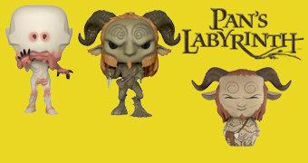 Bonecos Pop! e Dorbz O Labirinto do Fauno (Guillermo del Toro)