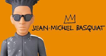 Boneco Jean-Michel Basquiat VCD Medicom
