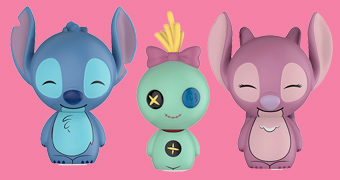Bonecos Dorbz Stitch, Angel e Xepa