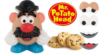 Pote de Cookies do Sr. Cabeça de Batata (Mr. Potato Head Cookie Jar)