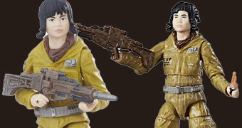 Action Figures Rose Tico (Kelly Marie Tran) Star Wars: Os Últimos Jedi