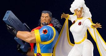 Tempestade (Storm) e Lucas Bishop ArtFX+ X-Men: Animated Series – Estátuas Kotobukiya 1:10