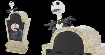 Pote de Cookies O Estranho Mundo de Jack (Tim Burton)