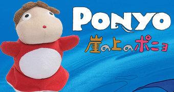 Bonecas de Pelúcia Ponyo – Uma Amizade que Veio do Mar de Hayao Miyazaki