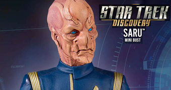Lt. Saru (Doug Jones) Busto Star Trek Gentle Giant