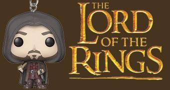 Chaveiro Aragorn Pocket Pop! O Senhor dos Anéis