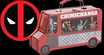 Lancheira Caminhão Deadpool