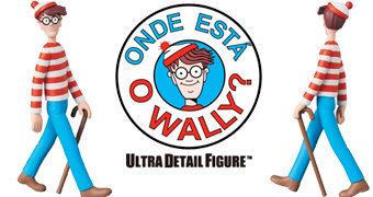 Boneco Onde Está Wally? UDF da Medicom Toy Japão