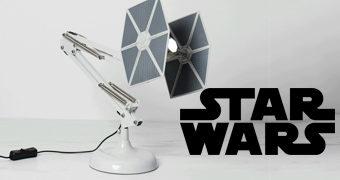 TIE Fighter Luminária de Mesa Arquiteto Star Wars