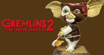 Gizmo Rambo Boneco Bobble Head Gremlins 2