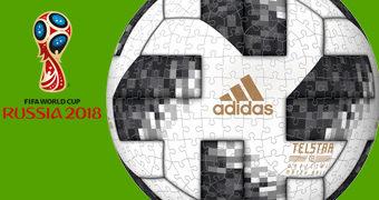 Adidas Telstar 18 Quebra-Cabeça Esférico Bola da Copa do Mundo Rússia 2018
