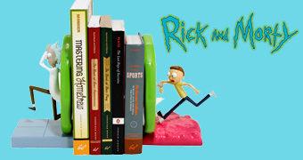 Rick And Morty Portal Bookends (Apoios de Livros)