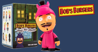 "Mini-Figuras Bob's Burgers ""Grand Re-Opening"" (Blind-Box)"