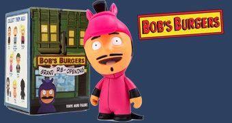 "Mini-Figuras Bob's Burgers ""Grand Re-Opening"" (Blind-Box)"