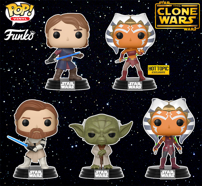 e9792c3176e8 Bonecos Pop! Star Wars: The Clone Wars