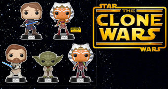 Bonecos Pop! Star Wars: The Clone Wars