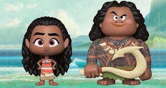 Dupla Moana e Maui VYNL (Moana: Um Mar de Aventuras)