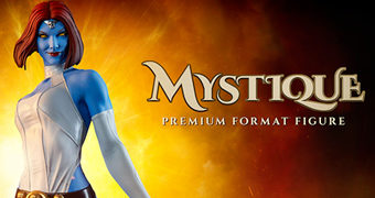Mystique Premium Format (Mística) – Estátua 1:4 Sideshow Collectibles