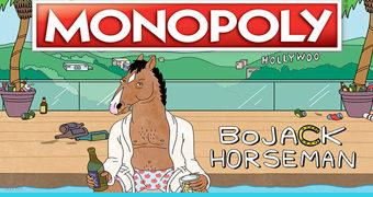 Jogo Monopoly BoJack Horseman (Netflix)