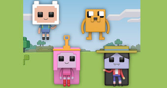 Bonecos Pop! Minecraft: Adventure Time (Hora de Aventura)
