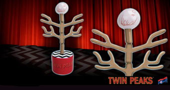 Fantoche Braço Evoluído (Evolution of the Arm) de Twin Peaks