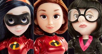 Action Figures Os Incríveis 2: Mulher Elástica, Violeta Pêra e Edna