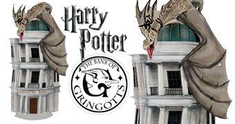 Cofre de Moedas Banco dos Bruxos Gringotes (Harry Potter)