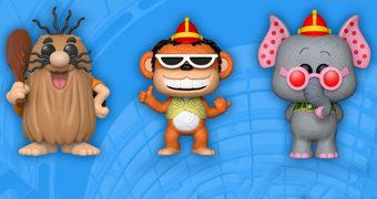 Hanna-Barbera e Looney Tunes Pop! SDCC18: Capitão Caverna, Banana Splits, Playboy Penguin e Pepe Le Gambá