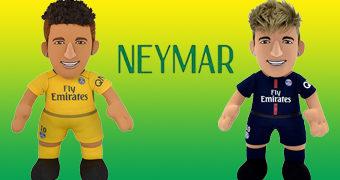 Bonecos de Pano Neymar, Camisa 10 do Brasil na Copa do Mundo Rússia 2018