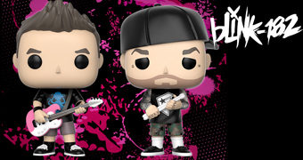 Bonecos Pop! Blink-182: Mark Hoppus e Travis Barker