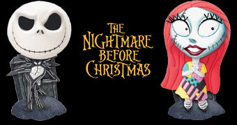 Cofres Fofinhos Jack e Sally Nightmare Before Christmas