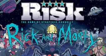 Jogo de Tabuleiro Rick and Morty Risk (War)