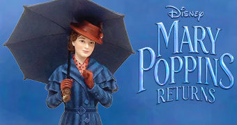 Estátua O Retorno de Mary Poppins (Cinematic Moment)