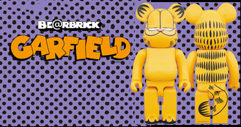 "Boneco Be@rbrick Garfield ""Am I Cool or What?"""