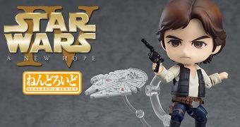 Boneco Nendoroid Han Solo – Star Wars Uma Nova Esperança