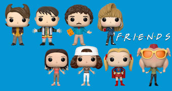 Bonecos Pop! do Sitcom Friends (Série 2)