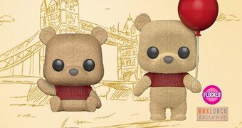 Bonecos Pop! Ursinho Pooh e Amigos no Filme Christopher Robin