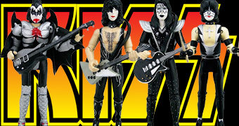 Action Figures KISS Destroyer Tour 1976