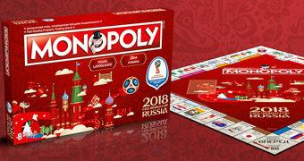 Jogo Monopoly FIFA Copa do Mundo Rússia 2018