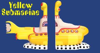 The Beatles Yellow Submarine Bookends 50 Anos (Apoios de Livros)