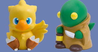 Cofres Final Fantasy: Tonberry e Chocobo