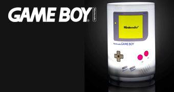Luminária Cilíndrica Game Boy