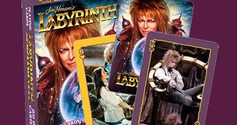 Baralho Labirinto A Magia do Tempo com David Bowie