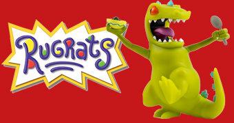Reptar, o Dinossauro Verde do Desenho Animado Rugrats: Os Anjinhos
