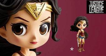 Boneca Japonesa Wonder Woman Q Posket (Banpresto)