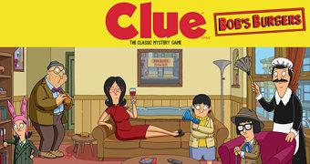 Jogo de Tabuleiro Bob's Burgers Clue (Detetive)