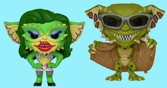 Bonecos Pop! Gremlins 2: Greta e Flasher