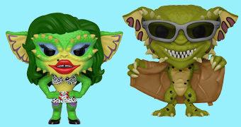 Bonecos Pop! Gremlins 2: Greta e Flasher