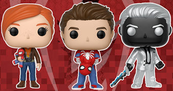 Bonecos Spider-Man Pop! Marvel Gamerverse