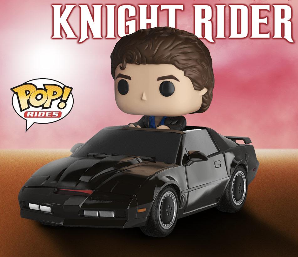KITT de A Super Máquina em versão Pop! Rides